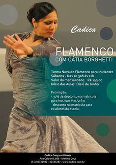 El Cajón Flamenco: Nova turma de flamenco com Cátia Borghetti em Port...