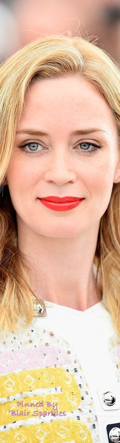 Emily Blunt Photocall Cannes 2015 Red Carpet | ♕♚εїз BLAIR SPARKLES