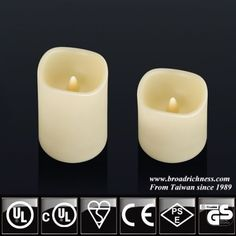 Flameless plastic LED candle with timer, battery operated pillar candle for indoor an outdoor. Flameless Candles With Remote, Led Candle Lights, Led String Lights, Pillar Candles, Battery Operated String Lights, Light Up, Battery Powered String Lights, Taper Candles