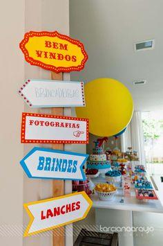Festa_Infantil_Decoração_Circo