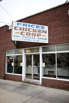 Photo Credit: Squire Fox. Price's Chicken Coop, a counter-service takeaway, open since 1952