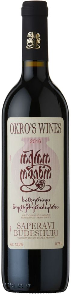 Okro's Saperavi Budeshuri   Mitchell & Son Wine - Mitchell and Son Wine Merchants Wine Merchant, Wine Online, Red Color, Wines, Red Wine, Pure Products