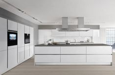 Fantastisch Cucina Ad Isola Con Gola Laccata Opaca SieMatic PURE   S2 By SieMatic