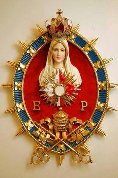 in termino maris Catholic Prayers, Catholic Art, Religious Art, Religious Icons, Religion Catolica, Catholic Religion, Blessed Mother Mary, Blessed Virgin Mary, Mama Mary
