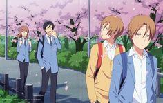 Yuki, Yuta, Kaname and Shun