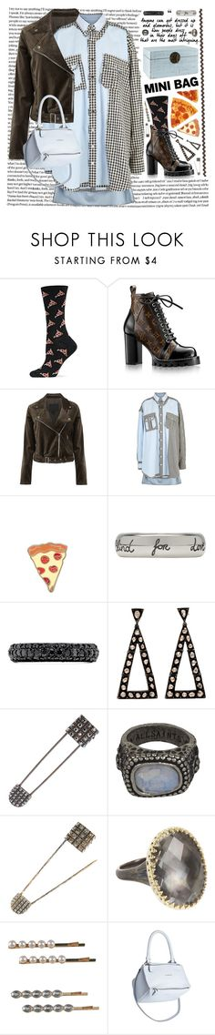 """Slice!"" by hennie-henne ❤ liked on Polyvore featuring HOT SOX, Louis Vuitton, Paige Denim, Maison Margiela, PINTRILL, Gucci, Effy Jewelry, Lanvin, AllSaints and Larkspur & Hawk"