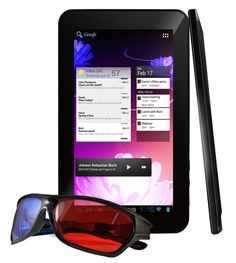 Ematic eGlide Prism 3D tablet starts shipping this month