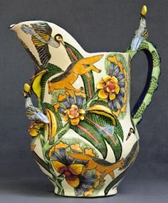 Kitty Shepherd of Ardmore ceramics