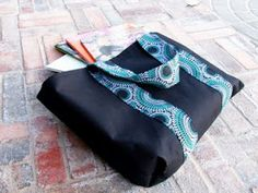 mama says sew: Library Tote