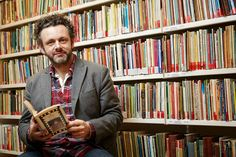 Michael Sheen celebrates after drama scripts saved for the nation