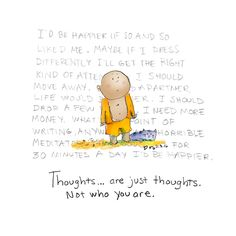 just thoughts {today's doodle}