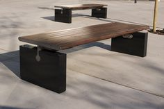 Bench by aarhus arkitekterne for Veksø #minimalist #danishdesign #scandinaviandesign #bench #streetfurniture #aarhusarkitekterne #veksø
