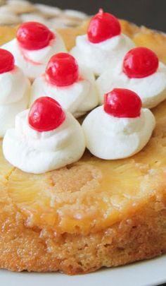 perfect pineapple upside-down cake