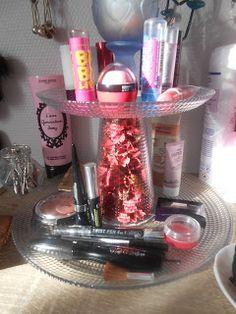 Diy présentoir pour maquillage