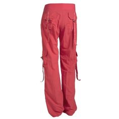Feelin It Cargo Pant Feelin It Cargo Pants (CANDY CORAL) Ladies Zumbawear Feelin It Cargo Pants Can be worn three different ways! 1) Down and baggy 2) Snap up legs for a short version 3) Gather the bottom for a funky hip look!  Body:  100 % nylon Waistband:  90 nylon/10 spandex ZUMBA Pants