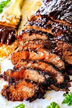 "Slow Cooker Beef Brisket with Barbecue Sauce (Video!) - Wonderfully juicy, flavor exploding, melt-in-your-mouth Slow Cooker Beef Brisket is ""better than - Slow Cooker Bbq Beef, Slow Cooker Recipes, Crockpot Recipes, Pork Recipes, Cooking Recipes, Crockpot Dishes, Game Recipes, Spinach Recipes, Brisket In Pressure Cooker"