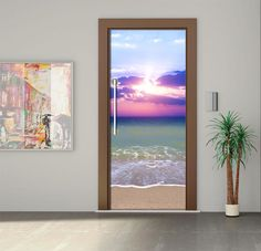 Door Sticker / Door Mural / Glass sticker / Door Wrap / Self-Adhesive Vinyl Decal / Fridge Decal model 222 by Printip on Etsy