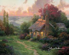 Thomas Kinkade - Welcome Home  2002