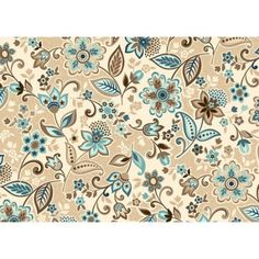 turquoise brown  fabric pattern ile ilgili görsel sonucu