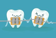 If one of your wires or brackets ever breaks, don't panic. Simply cover any sharp edges with wax and contact your orthodontist so that you can get it fixed as soon as possible. Do NOT try to remove the wire or pull the bracket off.