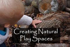 Simple and Joyful: Providing Natural Play Spaces