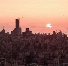 #Beirut #Sunset #Lebanon #LiveLoveBeirut #LiveLoveLebanon