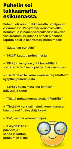 puhelin_soi_lakkaamatta_esikunnassa_2 T 62, Tarzan And Jane, Funny Photos, Finland, Bujo, I Laughed, Texts, Jokes, Wisdom