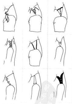 Дизайн одежды, мода, шитье и крой Застежки на плече. Виды.