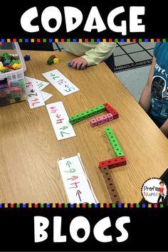 Teaching Technology, Teaching Math, Math Stations, Math Centers, Math Binder, Early Years Maths, Computational Thinking, Kindergarten Themes, Coding For Kids