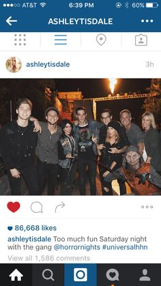 If Ashley Tisdale, Sharpay, is in this photo, does that make Ashton Ryan?