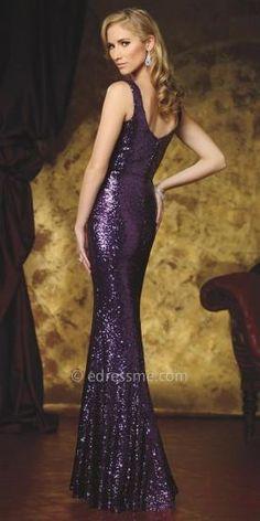 6acfd7d0494 Cassidy Sequined Evening Dress by Celebrity by David Tutera  edressme David  Tutera