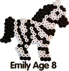 Zebra perler beads - Perler® | Gallery