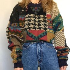 Hippie Outfits, Retro Outfits, Cool Outfits, Vintage Outfits, Casual Outfits, Vintage 90s Clothing, 80s Style Outfits, Funky Clothing, Grunge Outfits