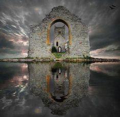 Castle Ruins, Loch Ard, Scotland photo via connie