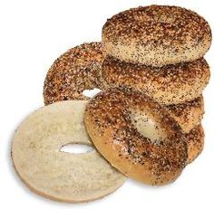 Everything Bagel New York Bagel, Everything Bagel, Bagels, Bread, Food, Brot, Essen, Baking, Meals