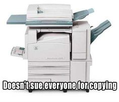 Good Guy Xerox Machine!