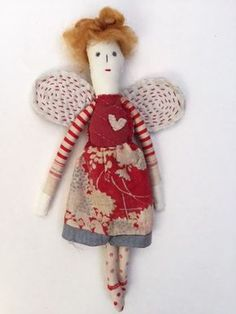 Some one has cancelled their place on my very popular annual doll making course on Monday 30th November. Think Xmas fairies or angels! The c...