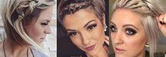 Die eigenen Haaren zu einem schönen Haarreif flechten! Schau Dir zur Inspiration diese tollen Beispiele an!