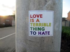 Love is a terrible thing to hate feels alternative indie grunge