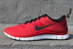 Nike Free 4.0 V2 Gym Red to wear with VSX gymwear