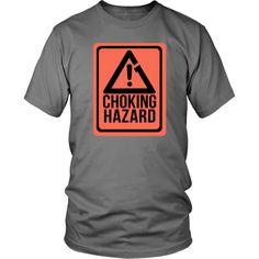 Choking Hazard Brazilian Jiu Jitsu T-shirt