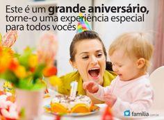 É o primeiro aniversário do seu filho, torne-o feliz!