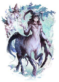 NOX - Centauress. Tags: centaurs, kentaurs,