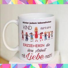 Freue mich, euch diesen Artikel aus meinem Shop bei #etsy vorzustellen: Qualitäts-Tasse Erzieherin / Erzieher Teacher Appreciation, Mugs, Tableware, Etsy, Kindergarten Gifts, Dinnerware, Tumblers, Tablewares, Mug