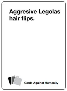 35 Nerdy Cards Against Humanity Cards To Add To Your Deck. Haha. I need this.