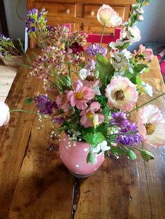 Bloemen, bloemen, bloemen.