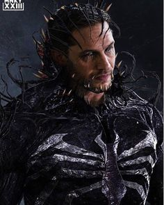 Tom Hardy's Venom gets the iconic spider chest symbol in a stunning piece of fan art inspired by the character's first cinematic solo o. Marvel Comics, Venom Comics, Marvel Heroes, Marvel Characters, Marvel Avengers, Venom Spiderman, Marvel Venom, Deadpool Wolverine, Black Panther Marvel