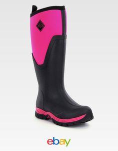 Muck Boots Arctic Sport Mid Black Women's | My Women Fashion ...
