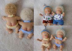 ooak sunny baby 6 inch organic waldorf doll natural