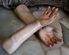 victorian saint hands